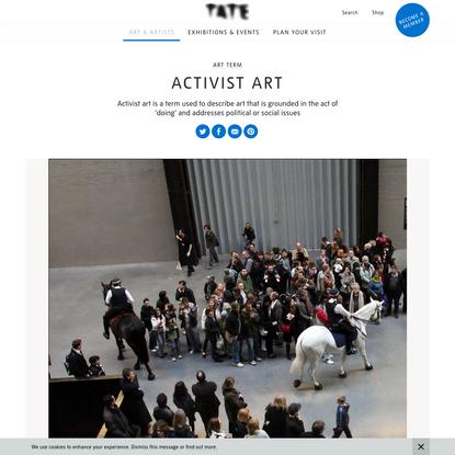 Activist art - Art Term   Tate