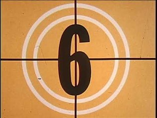 16mm Film Leader Countdown Compilation