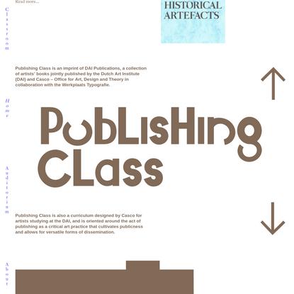 Publishing Class