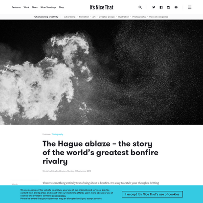 The Hague ablaze - the story of the world's greatest bonfire rivalry