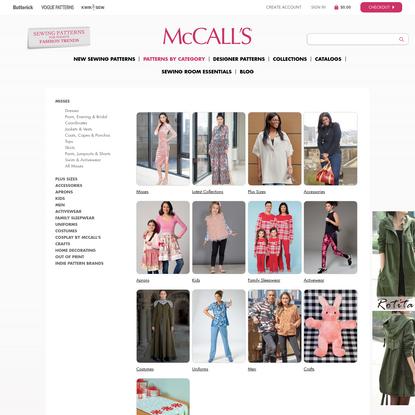 Patterns   McCall's Patterns