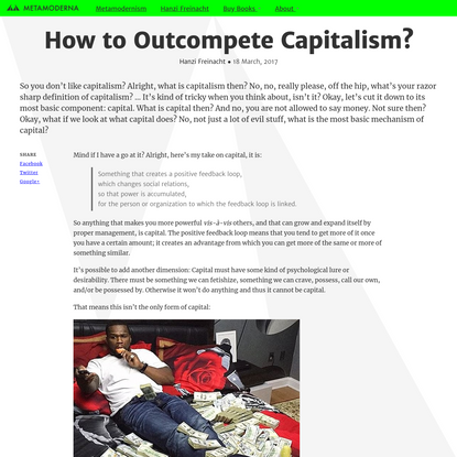 How to Outcompete Capitalism?