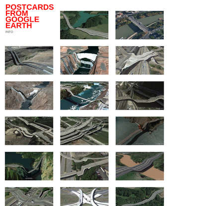 Postcards from Google Earth | Postcards from Google Earth