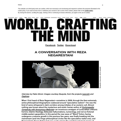 Engineering the World, Crafting the Mind   NERO