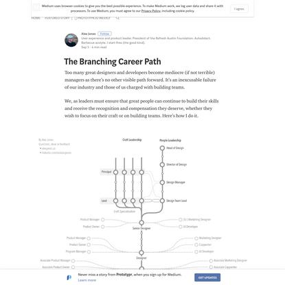 The Branching Career Path - Prototypr