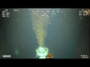 BP Oil Spill Footage (High Def) - Leak at 4840' - June 3 2010 (1 of 4)