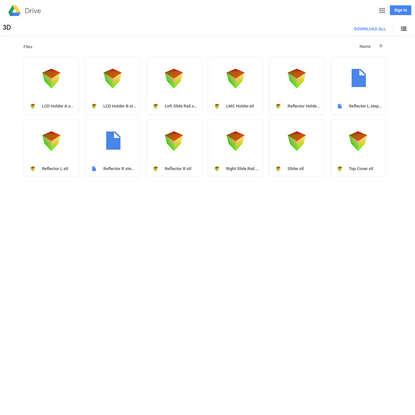 3D - Google Drive