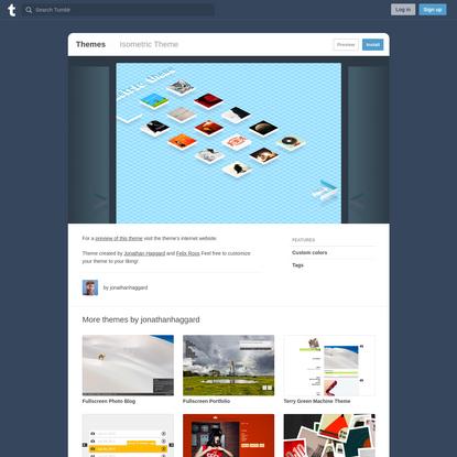 Isometric Theme   Tumblr