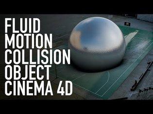 COLLISION OBJECT CINEMA 4D TUTORIAL