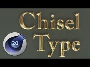 Chisel Type using Spline Fields [New in C4D R20]