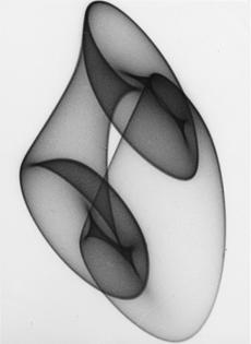 Herbert W. Franke, Untitled, Tanz Der Elektronen (Dance of the electrons), 1962