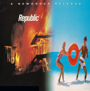 New Order Republic, by Peter Saville