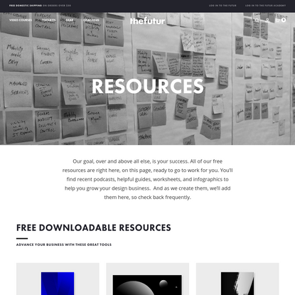 Free Downloadable Templates, Worksheets, Guides and Other Resources - The Futur