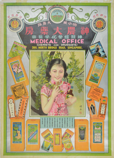 Singapore Medical Advertising Poster