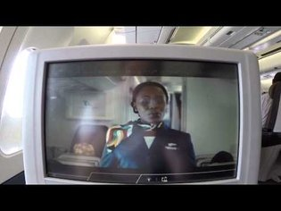South African Airways - NEW Safety Video - Airbus A340 [FULL HD]