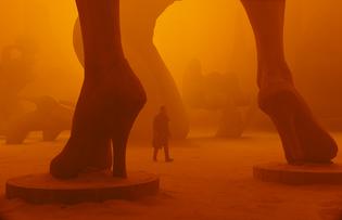 Blade Runner 2049 statues