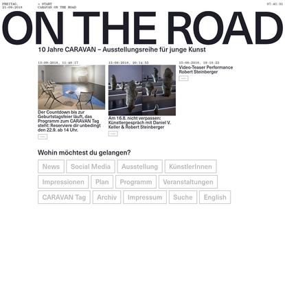 """""""On the road"""" - Caravan, Aargauer Kunsthaus"""
