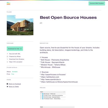 Best Open Source Houses | Folder Market