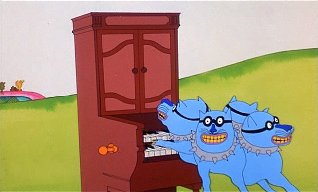 The Beatles Bull Dog Yellow Submarine ANimation