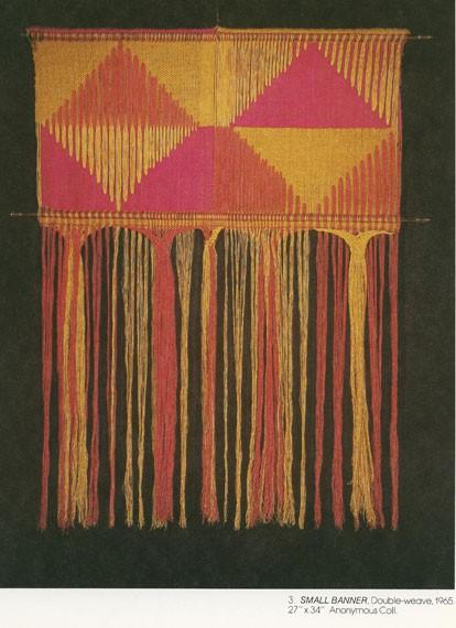 Trude Guermonprez, Small Banner, 1965