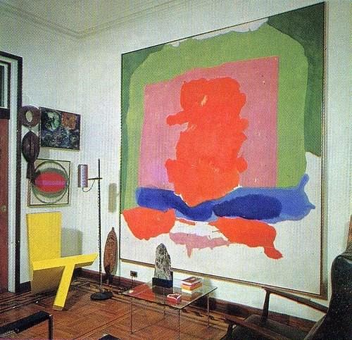 Helen Frankenthaler and Robert Motherwell home