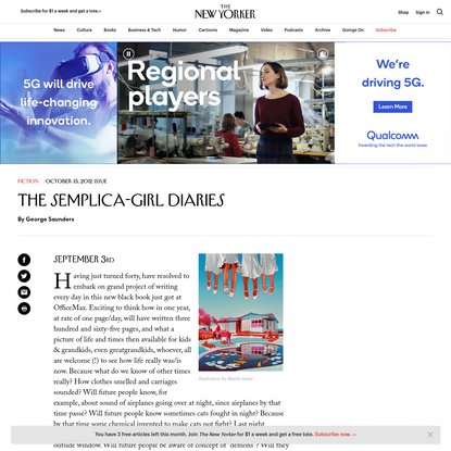 The Semplica-Girl Diaries