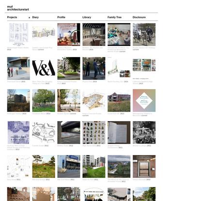 muf architecture/art
