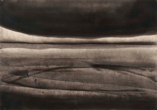 Lee Bontecou Untitled, Soot on Paper, 1957