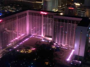 View from Las Vegas Ferris wheel