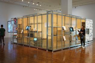 Monoskop Exhibition Library, Seoul, 2018