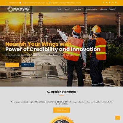 New World Construction