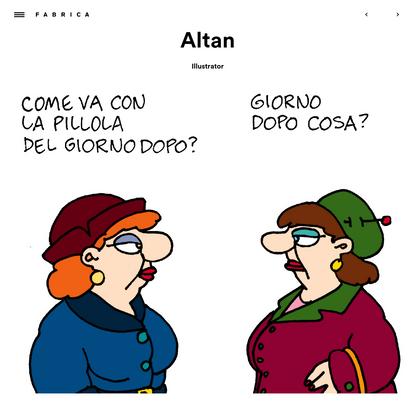 Altan - Fabrica