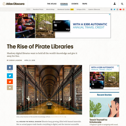 The Rise of Pirate Libraries