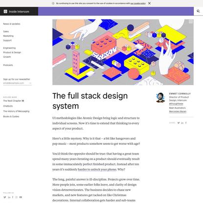 The full stack design system - Inside Intercom