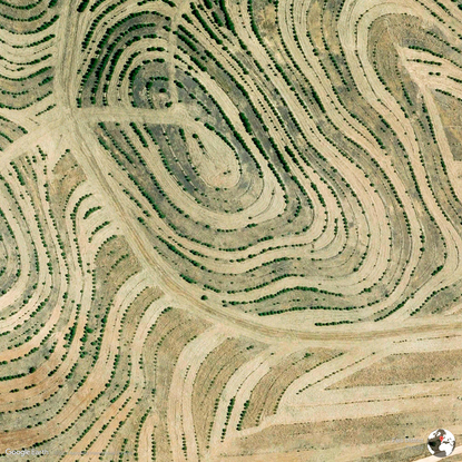 Faro District, Portugal - Earth View from Google