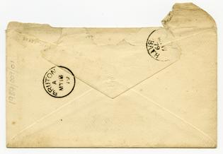 19th century envelope