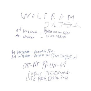 [PP-LFEK-01] WOLFRAM - WOLFRAM EP (snippets) by PUBLIC POSSESSION