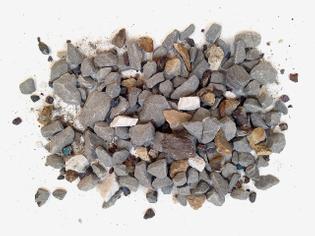 Untitled (Iphone Mine), 2014 halite, chalcopyrite, bauxite, colemanite, chromite, peridotite, quartz, sphalerite, crude oil, dolomite, graphite ore, limestone, magnesite, gold ore, silver ore, pyrolusite, celestite, hematite