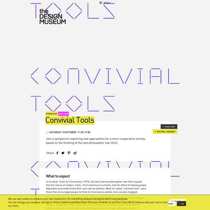 Convivial Tools