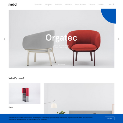Home page - MDD