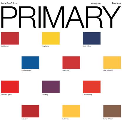 Primary Paper