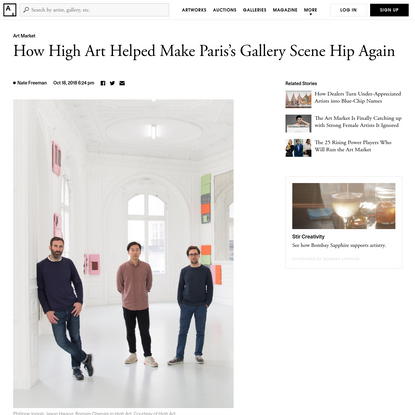 This Paris Gallery Is Anointing the Next Art World Darlings