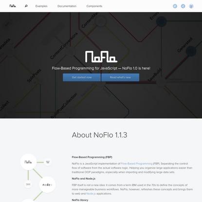 NoFlo   Flow-Based Programming for JavaScript