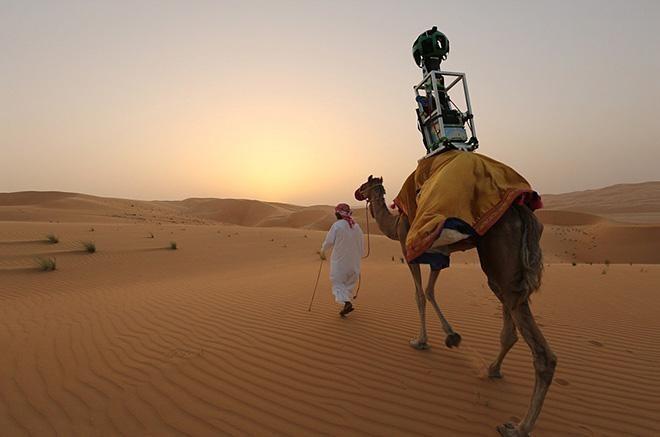 Camel google street view