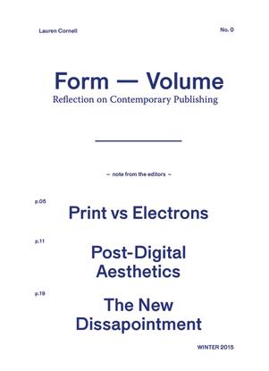 Reflection on Contemporary Publishing