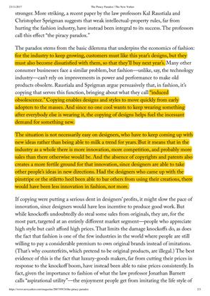 An Excerpt on Amplification: Origin Unknown