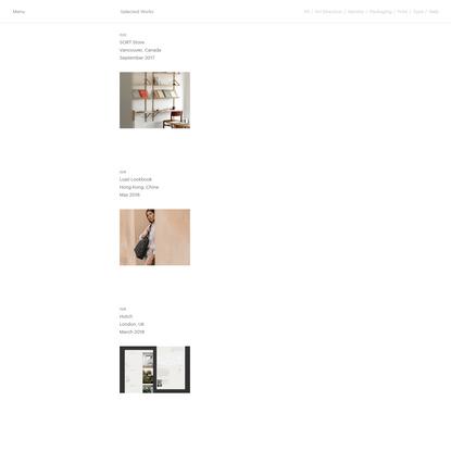 Studio Faculty - A graphic design studio based in Vancouver, Canada.