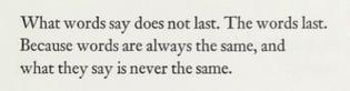 Antonio Porchia, Voices (trans. W. S. Merwin)