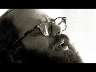 Allen Ginsberg reads America