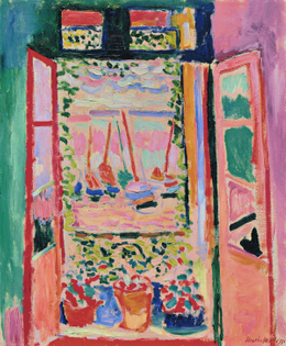 """Matisse's """"The Open Window"""" (1905) [Exploration of Color]"""